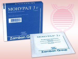 Антибиотик Монурал
