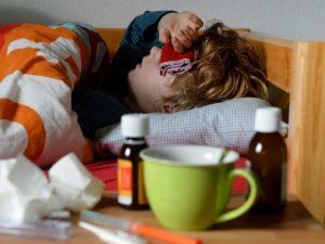 Болеть гриппом