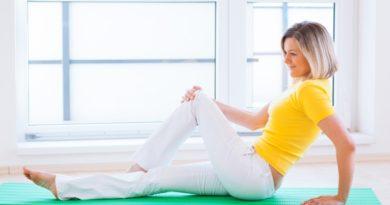 Лечебная физкультура для колен
