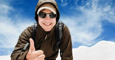 Солнцезащитные очки зимой