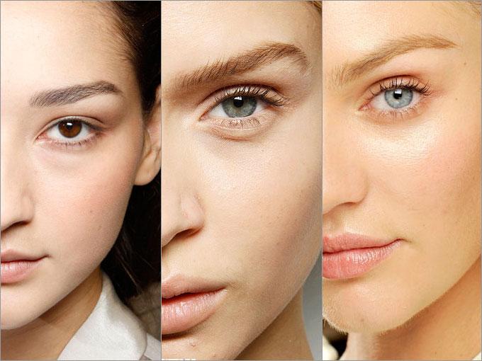 чтобы избежать воспалений следует использовать минимальное количество декоративной косметики.