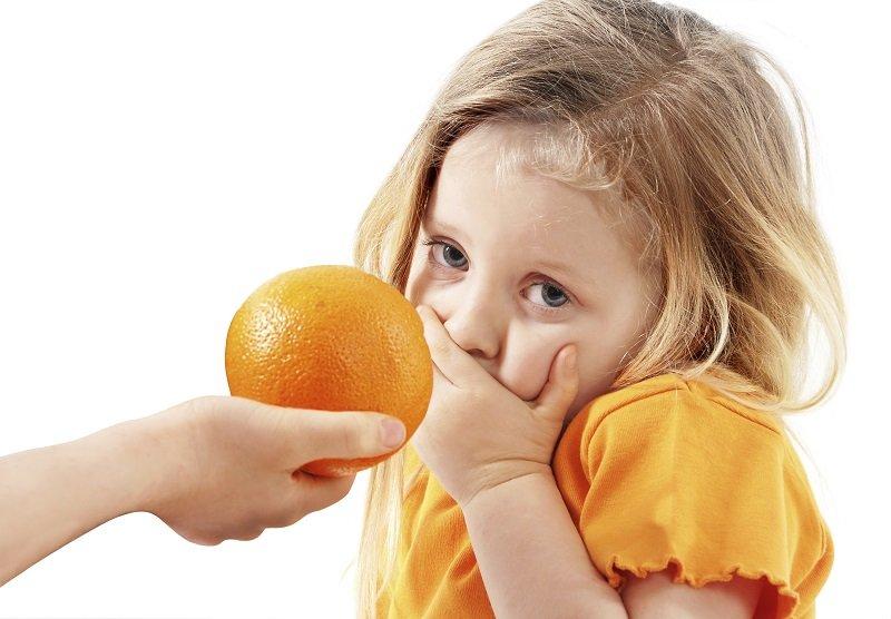 Неправильное хранение апельсин