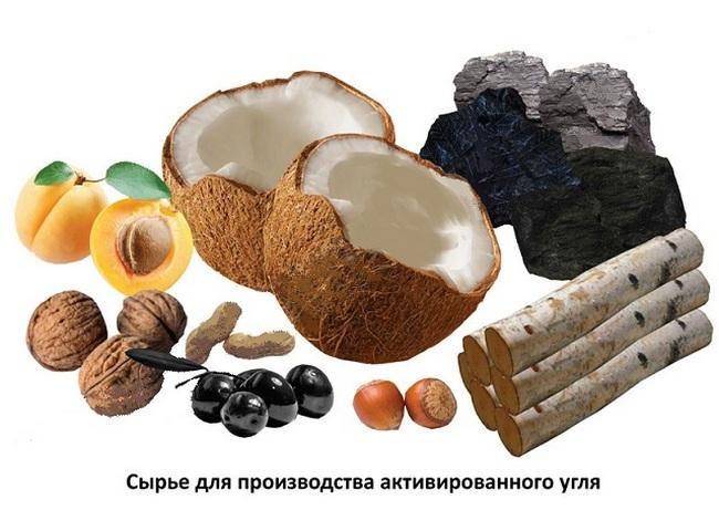 Производство активированного угля