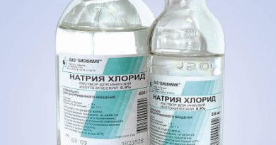 Физраствор натрия хлорид