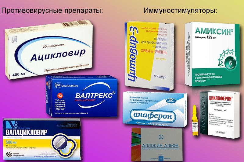 Препараты для профилактики ОРВИ