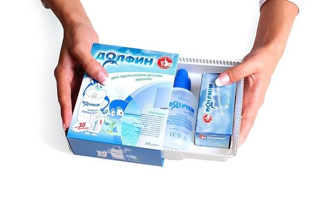 долфин для промывания носа
