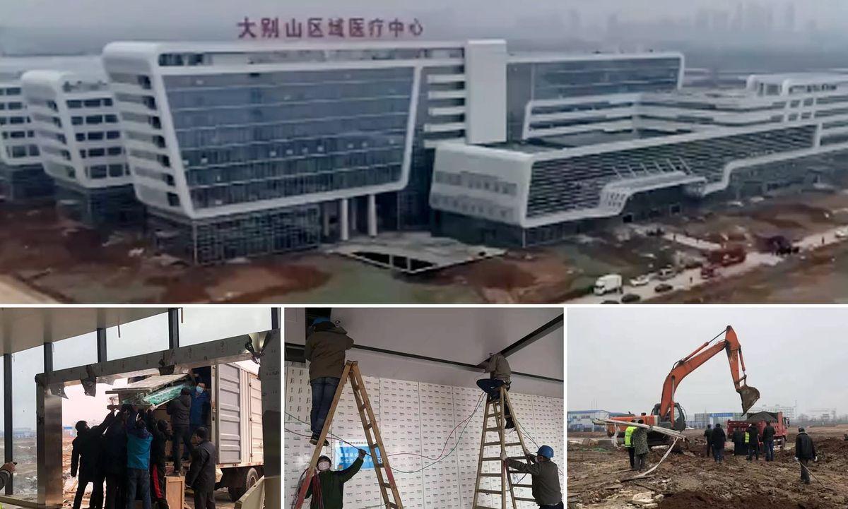 фото новая больница в китае